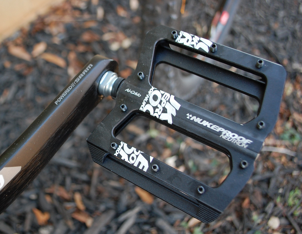 Mountain Biking Flat Pedals